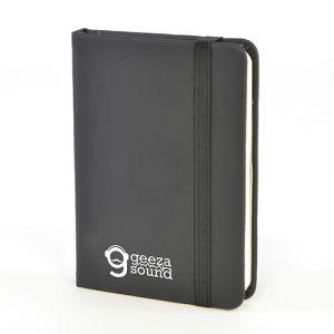 A7 Soft Touch PU Notebooks in Black