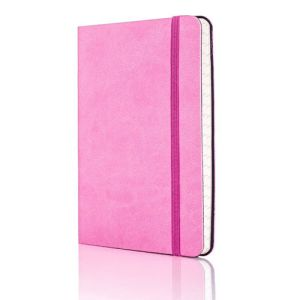 Tucson Flexible Ruled Pocket Notebook in Pink