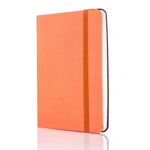 Tucson Flexible Ruled Pocket Notebook in Orange
