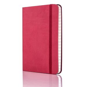Tucson Flexible Ruled Pocket Notebook in Red