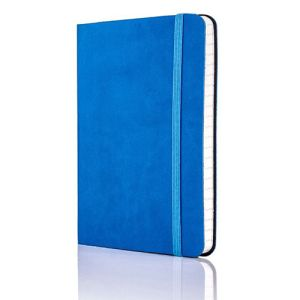 Tucson Flexible Ruled Pocket Notebook in French Blue