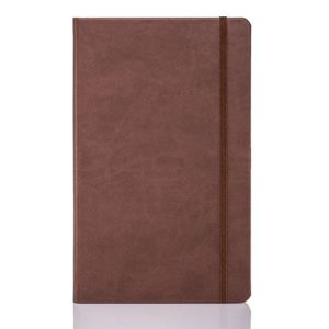 Tucson Flexible Ruled Medium Notebooks in Brown