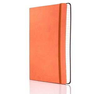 Tucson Flexible Ruled Medium Notebooks in Orange