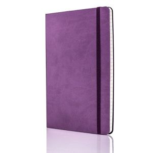 Tucson Flexible Ruled Medium Notebooks in Purple