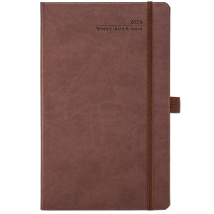 Custom branded journal for councils colours in Chestnut