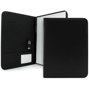 A4 Clapham PU Conference Folder in Black