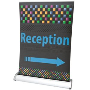 Promotional A4 Desk Roller Banners for Events