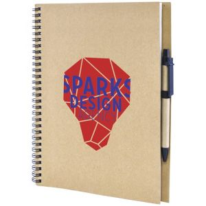 Promotional A4 Recycled Card Notebook for Campaign Merchandise