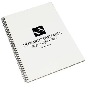 A4 Recycled Polypropylene Notepads in White