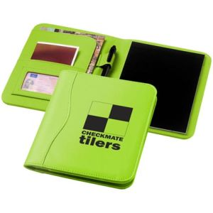A5 Notepad Portfolios in Apple Green