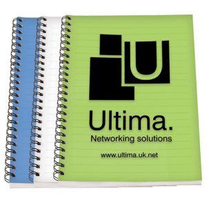 A5 Polypropylene Spiral Bound Notebooks
