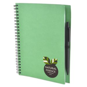 Printed notebooks for workplace merchandise