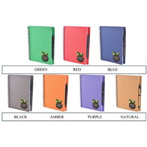 Branded notebooks for freshers gifts colours