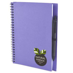 Custom branded notebooks for office giveaways