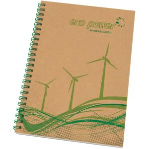 Promotional A5 Recycled Card Notepads for universities
