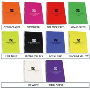 Branded gift notebooks for freshers ideas