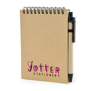 Promotional A6 Recycled Wiro Bound Note Pads for Workplace Merchandise
