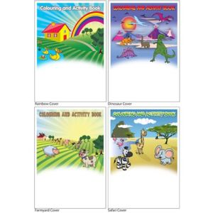 A6 Sticker Activity Books
