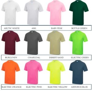 There are colours to suit every brand identity with these promotional T-shirts!