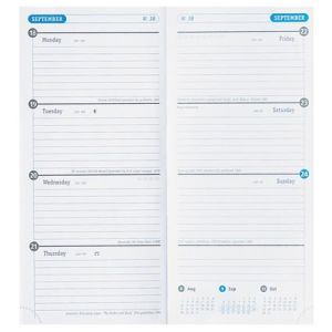 Branded diaries for business gifts page layout