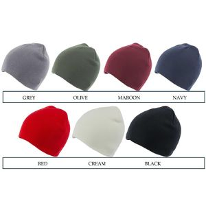 Custom branded beanies for schools colours