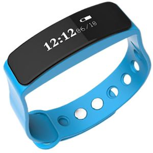 Choose from 3 different colours for these promotional fitness trackers: blue, orange or black.