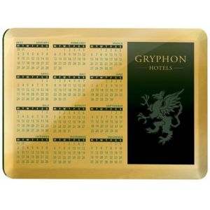 Branded Metal Calendar Coaster for Workplace Merchandise