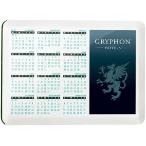 Printed Aluminium Coaster Calendars for Business Giveaways