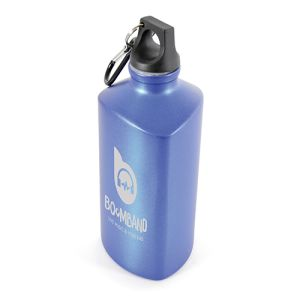 530ml Aluminium Prism Sports Bottles in Blue