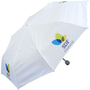 Personalised Small Umbrellas offer great areas for your designs and logos