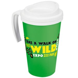 Americano Grande Thermal Mugs in Green
