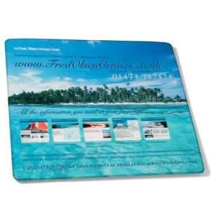 Promotional Armadillo Mouse Mat for Desktop Advertising