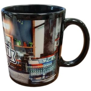 Atlanta Photo Mugs in Black