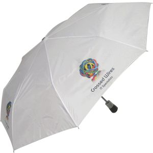 Custom Branded Autolux Umbrellas offering ample room for your designs
