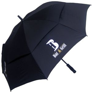 Custom Branded Automatic Vented Umbrellas for Business Merchandise
