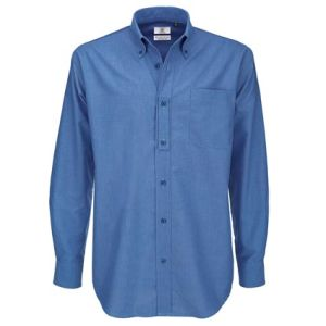 B & C Men's Long Sleeve Shirts