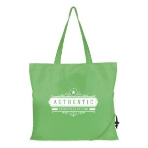 Custom printed Bayford Folding Shopping Bags with logo
