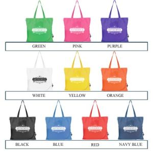 Promotional giveaway bags for event ideas