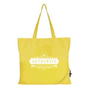 Corporate branded bags with company logos