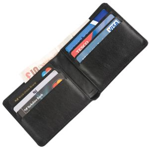 Belluno PU Wallet in Black