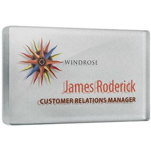 Custom Branded Name Tag Badge for Events