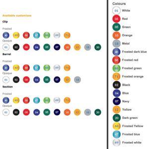 Promotional Pens for university giveaways colours