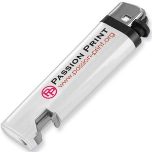 Promotional Bottle Opener Lighters with company logos