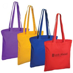 Custom printed bags for freshers gifts colours