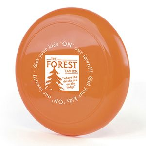 Personalised Flying Discs for Marketing Gifts
