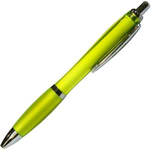 Branded curvy ballpens for the workplace