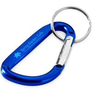 Branded Carabiners with corporate details