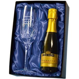Personalised Champagne Flute and Prosecco Gift Sets for Corporate Gifts