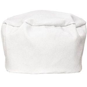 Chef Skull Caps in White
