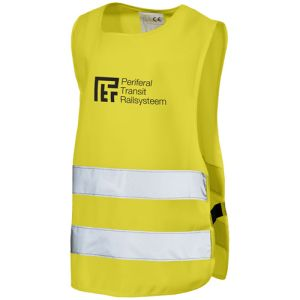 Child Safety Vests in Yellow